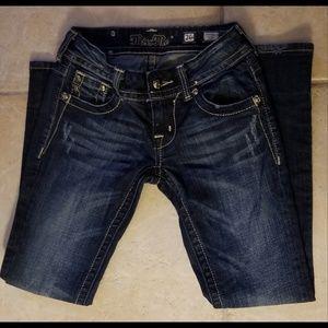 Miss Me Dark Wash Denim Bootcut Jeans Size 26